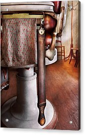 Barber - The Strop Acrylic Print by Mike Savad