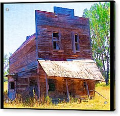 Acrylic Print featuring the photograph Barber Store by Susan Kinney