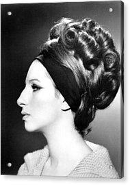 Barbra Streisand, Portrait Acrylic Print by Everett