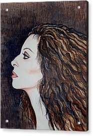 Barbra Streisand Acrylic Print