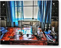 Barb's Sewing Room Acrylic Print