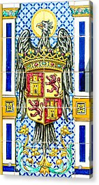 Barcelona - Azulejo 3 Acrylic Print