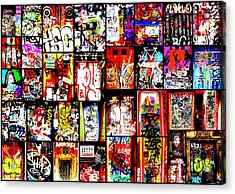 Barcelona Doors  Acrylic Print by Funkpix Photo Hunter