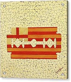 Barcelona Acrylic Print by Emil Bodourov