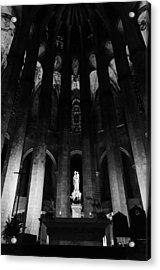 Barcelona - Santa Maria Del Mar Acrylic Print