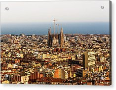 Barcelona Acrylic Print by Svetlana Sewell