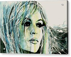 Bardot Acrylic Print by Paul Lovering