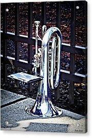 Baritone Horn Before Parade Acrylic Print