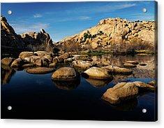 Barker Dam Lake Acrylic Print