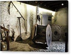 Acrylic Print featuring the photograph Barley Warehouse At Lockes Distillery by RicardMN Photography