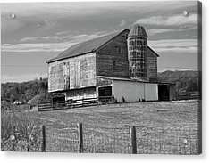 Acrylic Print featuring the photograph Barn 1 by Mike McGlothlen