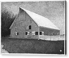 Barn 11 Acrylic Print by Joel Lueck