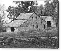 Barn 14 Acrylic Print by Joel Lueck