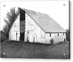 Barn 16 Acrylic Print by Joel Lueck