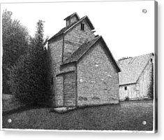 Barn 18 Acrylic Print by Joel Lueck