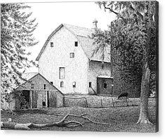 Barn 23 Acrylic Print by Joel Lueck