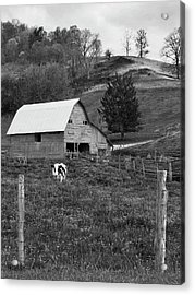 Acrylic Print featuring the photograph Barn 4 by Mike McGlothlen