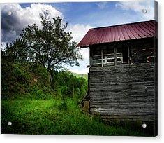 Barn After Rain Acrylic Print by Greg Mimbs