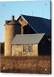 Barn At 57 And Q Acrylic Print