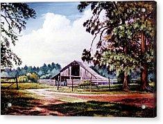 Barn At Honey Island Acrylic Print
