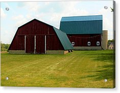 0004 - Barn Brothers Acrylic Print