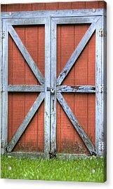 Barn Door 3 Acrylic Print by Dustin K Ryan