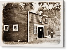 Barn In The Woods Acrylic Print