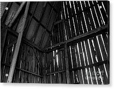 Barn Inside Acrylic Print