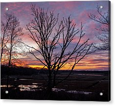 Acrylic Print featuring the photograph Barn Island - Pawcatuck Ct by Kirkodd Photography Of New England