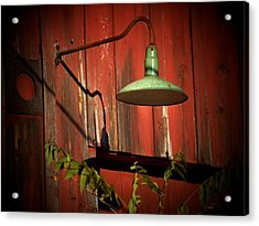 Barn Light Acrylic Print