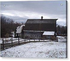 Barn Near New Paltz Ny Acrylic Print