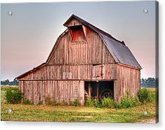 Barn Near Walnut Ridge Arkansas Acrylic Print by Douglas Barnett