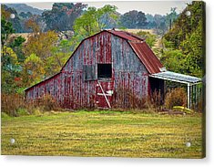 Barn On White Oak Road 2 Acrylic Print