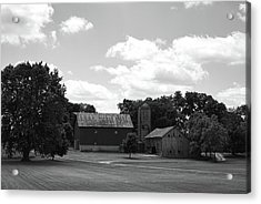 Acrylic Print featuring the photograph barn scene No.2 by Tom Druin