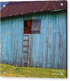 Barn Shadows. Vermont Acrylic Print
