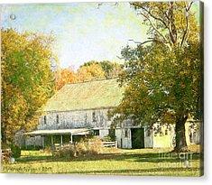 Barn Still Standing Acrylic Print