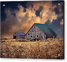 Barn Surrounded With Beauty Acrylic Print