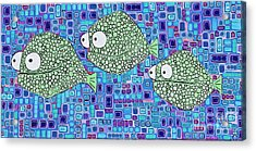 Barnacle Fish Acrylic Print