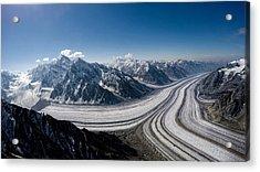 Barnard Glacier Alaska Acrylic Print