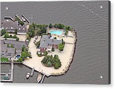 Barnegat Bay House Mantoloking New Jersey Acrylic Print