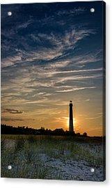 Barnegat Sunset Acrylic Print