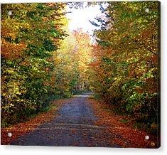 Barnes Road - Cropped Acrylic Print
