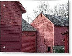Barns Acrylic Print