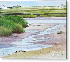 Barnstable Marsh Acrylic Print