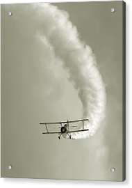 Barnstormer Acrylic Print by David April