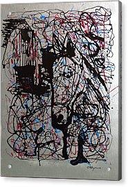 Barnyard Horse Acrylic Print