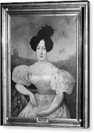 Baroness De Pontalba Acrylic Print