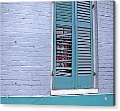 Barred And Shuttered Acrylic Print
