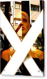 Barred Acrylic Print by Jez C Self
