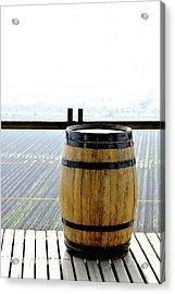 Barrel Acrylic Print by Fernando Lopez Lago